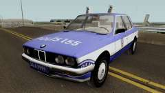 BMW 323i E30 Turkish Police Car para GTA San Andreas