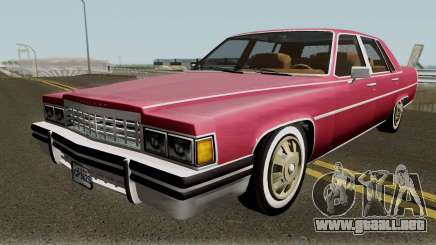 Cadillac Fleetwood Normal 1985 v1 para GTA San Andreas