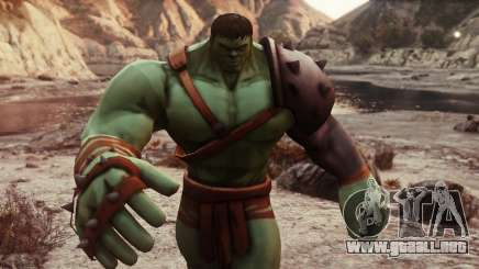 Gladiator Hulk (Planet Hulk) 2.1 para GTA 5