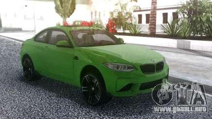 BMW M2 Green para GTA San Andreas