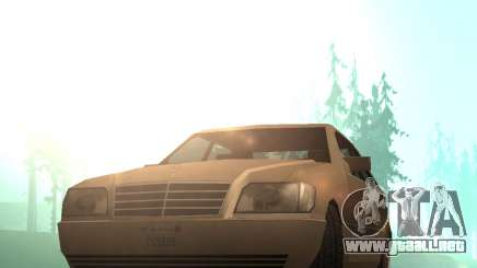 Mercedes-Benz w140 S600 Low Poly para GTA San Andreas