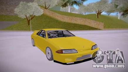 Nissan Skyline GTR R32 LOW para GTA San Andreas