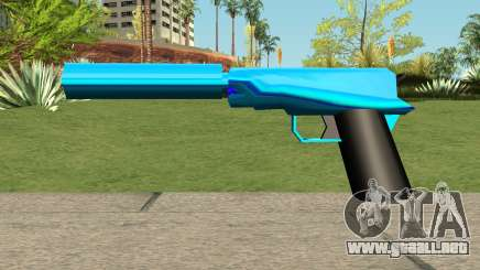 Silenced Blue para GTA San Andreas