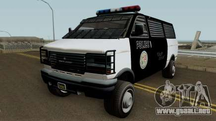 Police Transport Burrito GTA 5 para GTA San Andreas