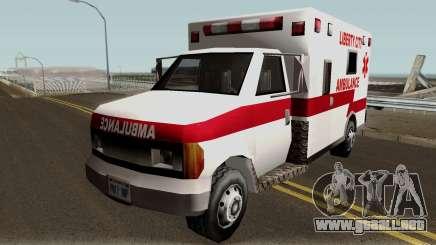 New Ambulance para GTA San Andreas