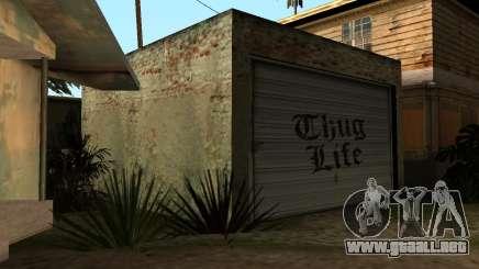 New Garage para GTA San Andreas