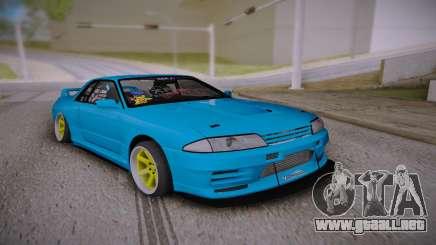 Nissan Skyline GT-R R32 JDM Style para GTA San Andreas