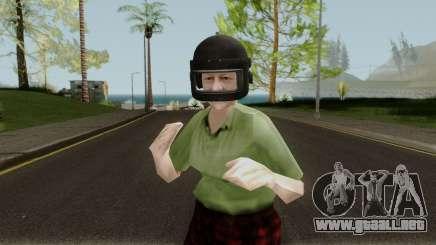 Grandma PUBG para GTA San Andreas