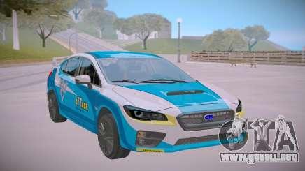 2017 Subaru WRX STI Rally para GTA San Andreas