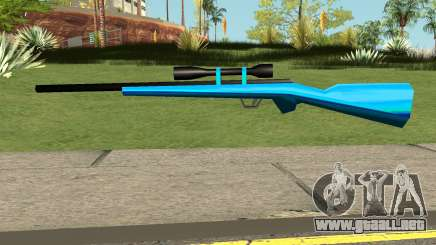Sniper Rifle Blue para GTA San Andreas