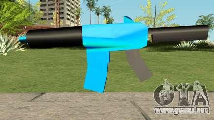 M4 Blue HQ para GTA San Andreas