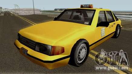 New Taxi IVF para GTA San Andreas