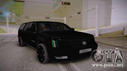 Cadillac Escalade ESV 2012 Long para GTA San Andreas