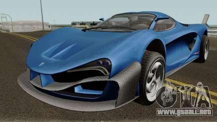 Grotti Turismo RX GTA V IVF para GTA San Andreas