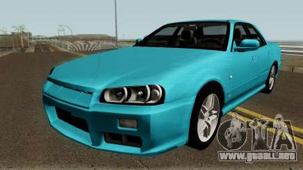 Nissan Skyline R34 Sedan 1999 para GTA San Andreas