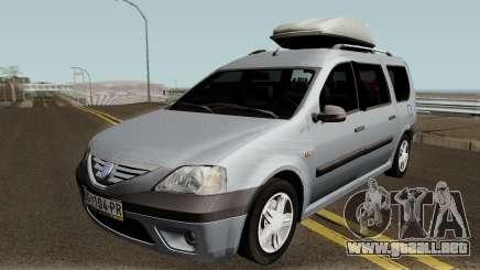 Dacia Logan MCV 1.5dci 2007 para GTA San Andreas