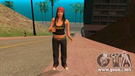 Participant 1 gang Los Santos Vagos from GTA 5 para GTA San Andreas