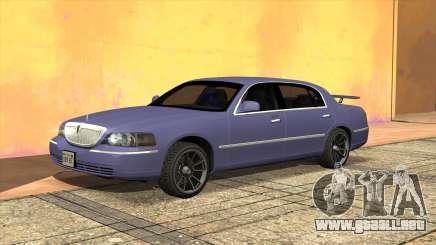 Licoln Town Car L Signature para GTA San Andreas