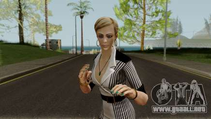 Tracy from Batman Arkham City para GTA San Andreas
