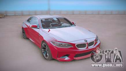 BMW M2 Red Coupe para GTA San Andreas