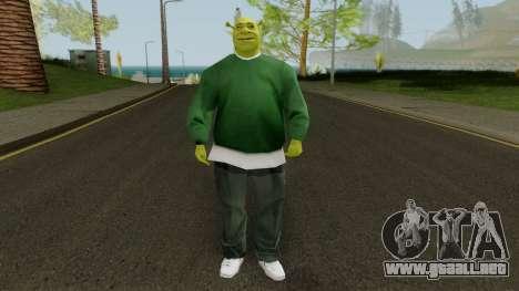 Shrek GSF para GTA San Andreas segunda pantalla