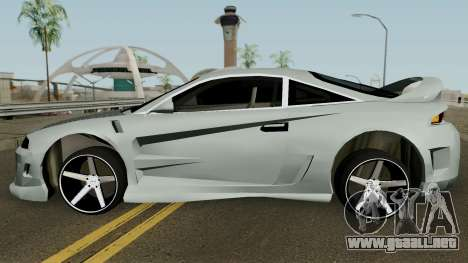 Mitsubishi Eclipse GTX para GTA San Andreas left