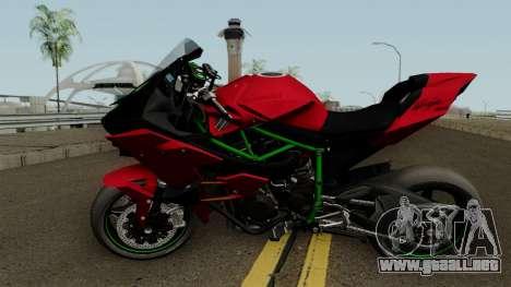 Kawasaki Ninja H2R 2015 para GTA San Andreas