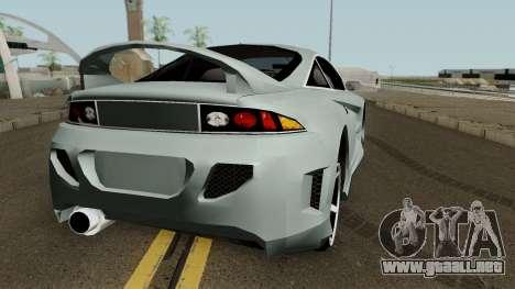 Mitsubishi Eclipse GTX para la visión correcta GTA San Andreas