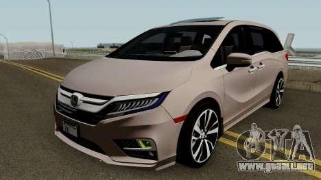 Honda Odyssey Elite 2018 para GTA San Andreas