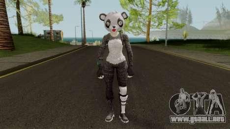 Fortnite Panda Skin para GTA San Andreas