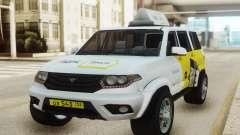 UAZ Patriot Yandex taxi para GTA San Andreas