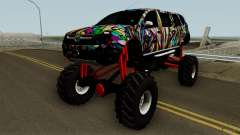Dacia Duster Limo Monster 2013 para GTA San Andreas