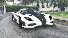 Koenigsegg One1 2014 v1.2 [replace] para GTA 5