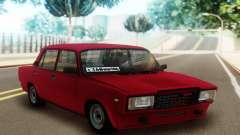 2107 Sedán Rojo para GTA San Andreas