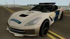 Chevrolet Corvette C7 Rendorseg