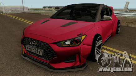 Hyundai Veloster Turbo WideBody 2019 para GTA San Andreas