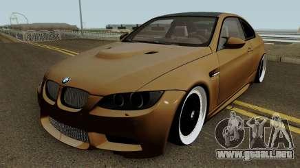 BMW M3 E92 2010 para GTA San Andreas