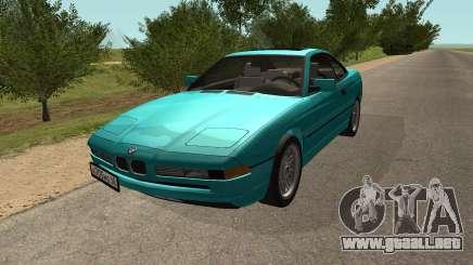 BMW 850i E31 Tiburón para GTA San Andreas