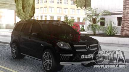 Mercedes-Benz GL63 Black para GTA San Andreas