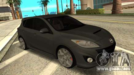 Mazda 3 MPS Stock para GTA San Andreas