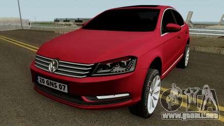 Volkswagen Passat B7 2014 para GTA San Andreas