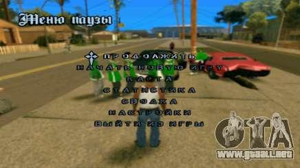 El Crack de kupuvv24 para GTA San Andreas