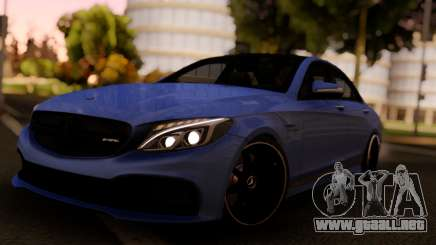 Mercedes-Benz C63S Sedan para GTA San Andreas