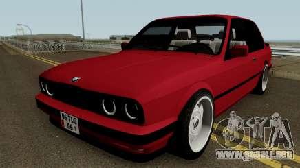 BMW E30 HQ para GTA San Andreas