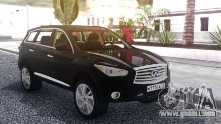 Infiniti JX 35 2013 Lifted para GTA San Andreas