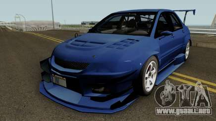 Mitsubishi Lancer Evolution IX OZ Drift 2006 para GTA San Andreas