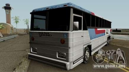 Beta Bus Dashound para GTA San Andreas