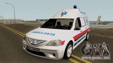 Dacia Logan MCV Ambulanta para GTA San Andreas