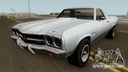 Chevrolet El Camino SS - MQ 1970 para GTA San Andreas