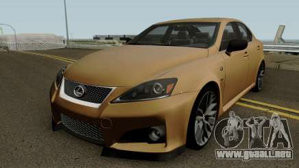 Lexus IS Sport para GTA San Andreas